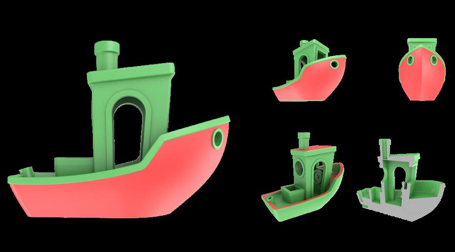 Le petit Bateau de 3DBenchy