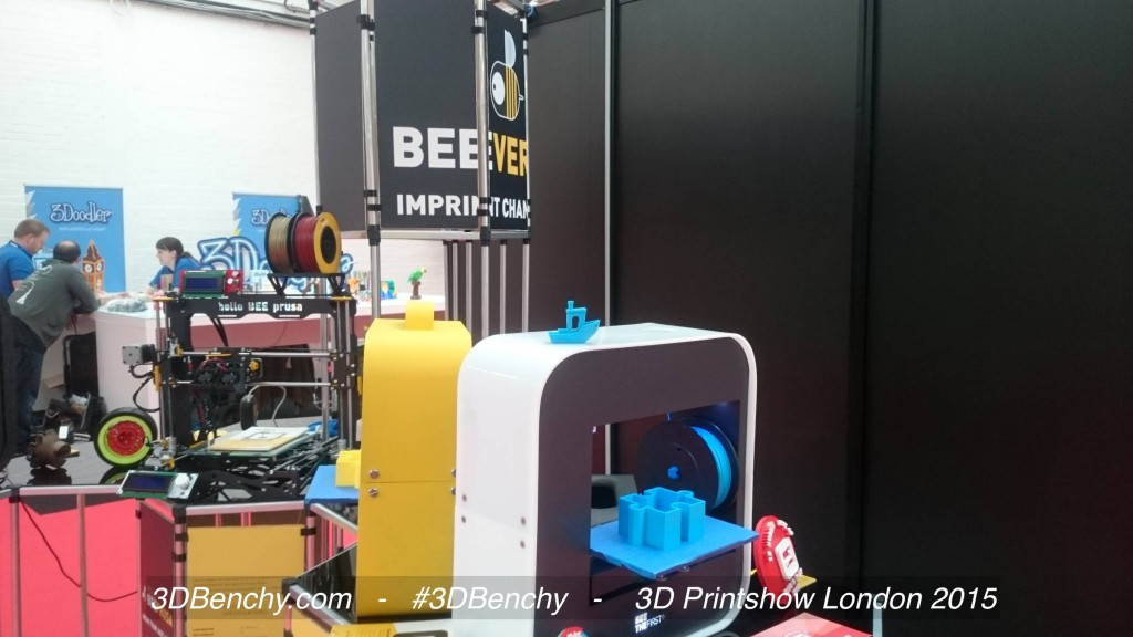 D Printing Exhibition London : Dbenchy at the london d printshow
